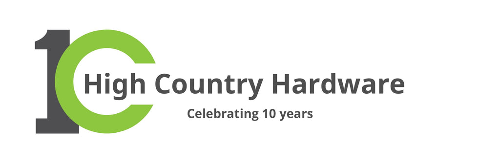 HIGH COUNTRY HARDWARE CELEBRATES 10-YEAR ANNIVERSARY