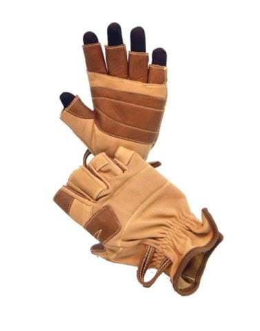 Rocks Edge 3/4 Finger Zip Line Professional/Rappelling Gloves