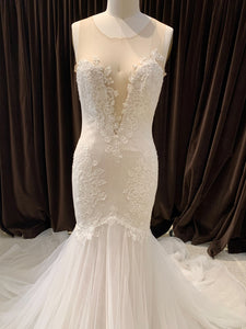 GC#911888 - Ines by Ines di Santo Ivy Wedding Dress in Size 12
