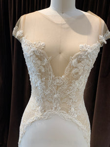 GC#911835 - Ines di Santo Siren Wedding Dress in Size 8