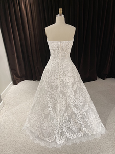 GC#32452 - Reem Acra Like a Prayer Wedding Gown in Size 10