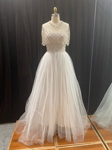 GC#32982 - Reem Acra Manhattan Wedding Dress Only in Size 8