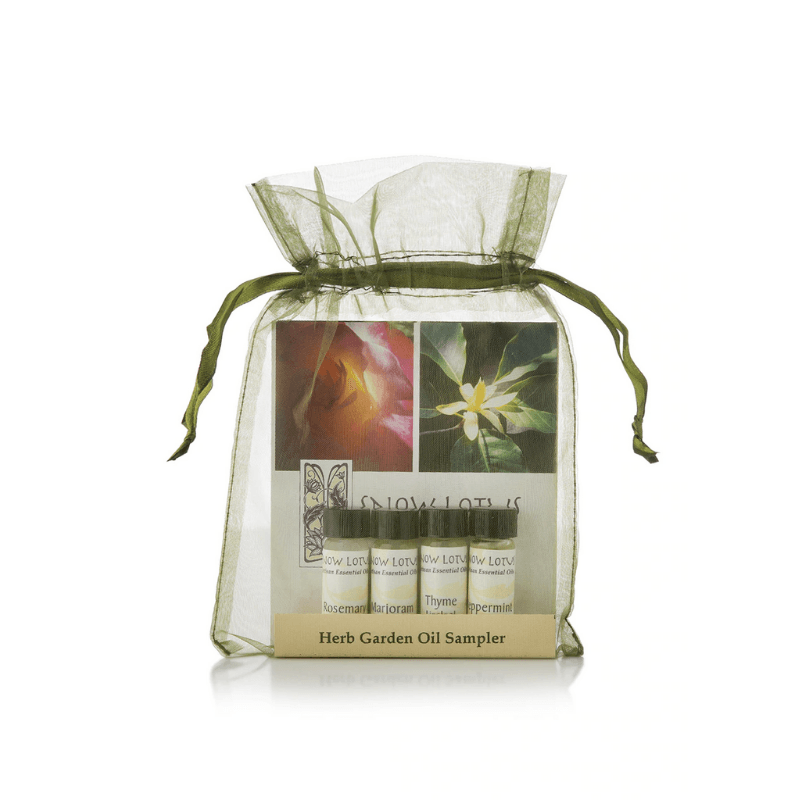 Herb Garden Essential Oil Sampler - Snow Lotus - People's Herbs