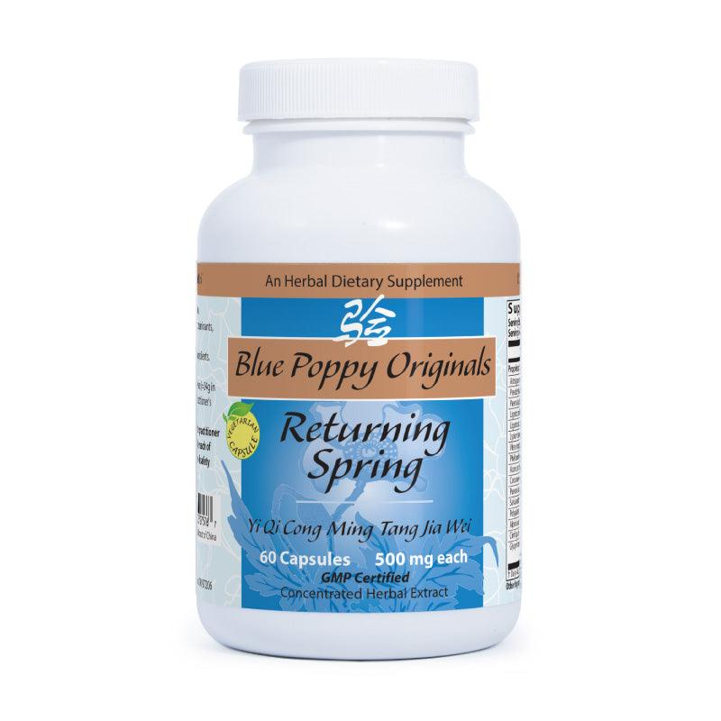 Returning Spring (60 capsules) - Blue Poppy - People's Herbs