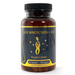 Jade Windscreen + ASR - herbal formula - mushrooms - People's Herbs - Astragalus Shiitake Reishi  - Traditional Chinese Medicine - immunity support