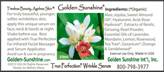 People's Herbs Golden Sunshine TRUE PERFECTION® WRINKLE SERUM
