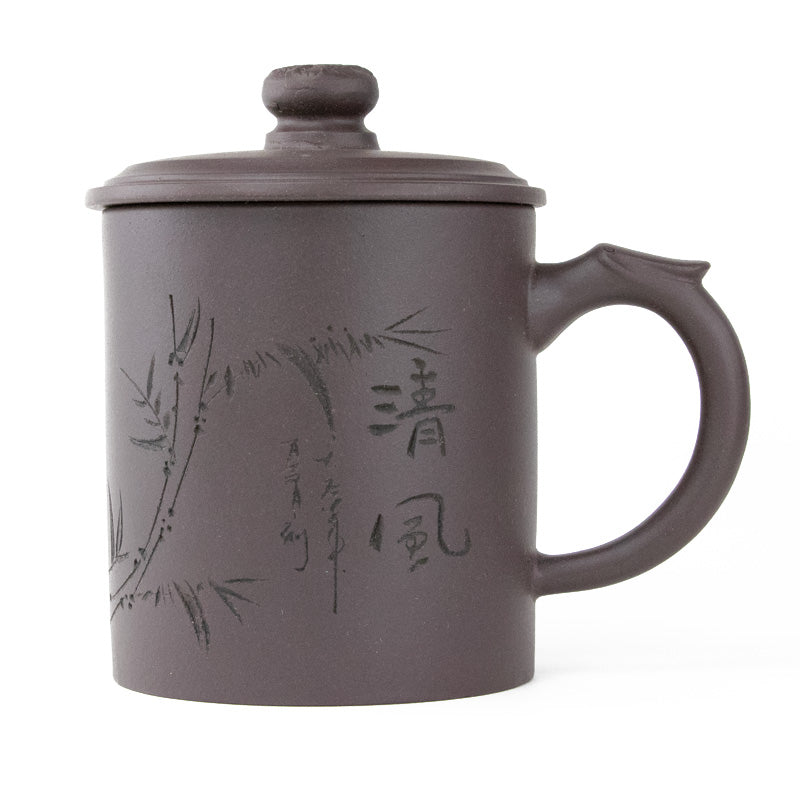 Dragon Handle- Dragon Handle Yixing Clay Covered Tea Cup  15oz. - People's Herbs
