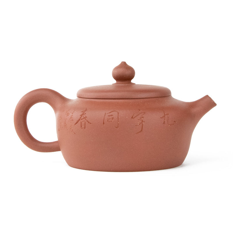 8.5 Ounce Yixing Clay Tea Pot