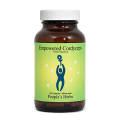Empowered Cordyceps herbal formulas - People's Herbs - mushrooms - Traditional Chinese Medicine