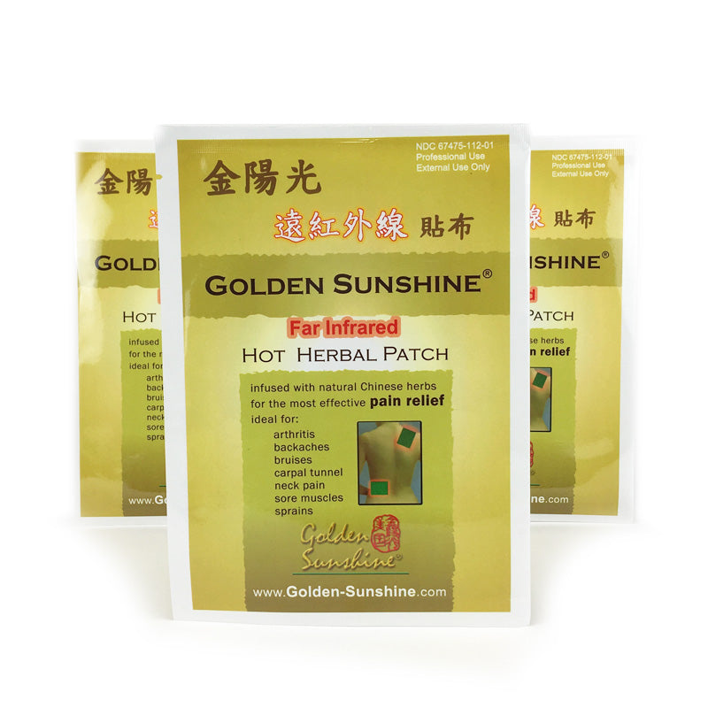 Hot Herbal Pain Relief Patches - People's Herbs