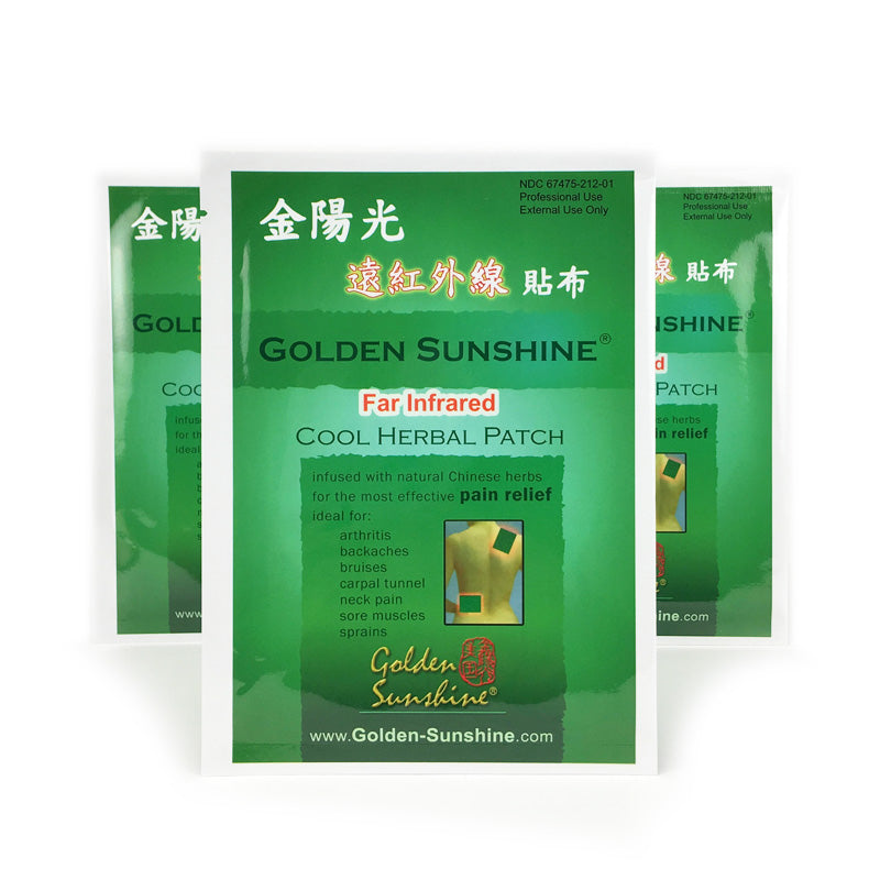 Cool Herbal Pain Relief Patches - People's Herbs