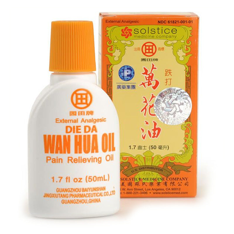 Die Da Wan Hua Oil - People's Herbs