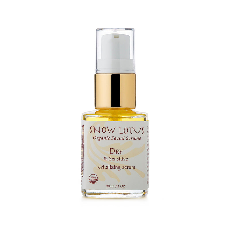 Revitalizing Facial Serum for Dry & Sensitive Skin - People's Herbs