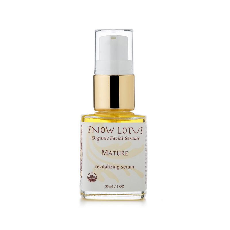 Revitalizing Facial Serum for Mature Skin - People's Herbs