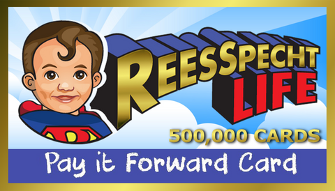 ReesSpecht Life Limited Edition Card (Fundraiser)