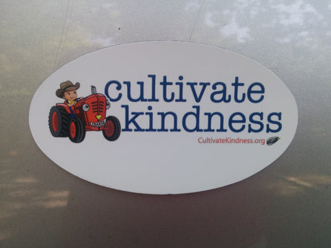 """Cultivate Kindness"" Car Magnet"