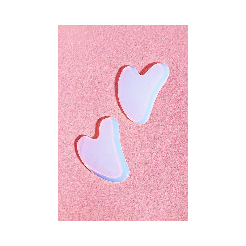 HEART SHAPED GUA SHA - Opal
