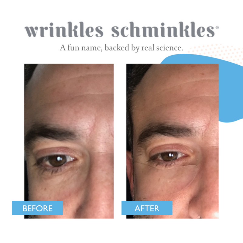 MEN'S EYE WRINKLE PATCHES - 3 PAIRS