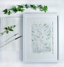 Load image into Gallery viewer, Dancing Leaves - Original A4 watercolour painting