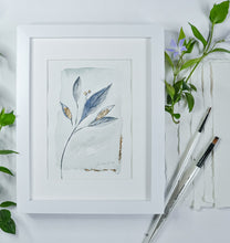 Load image into Gallery viewer, Elegant Greenery - Original A5 watercolour