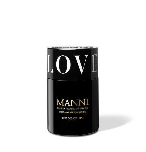 Manni Oil of life organic extra virgin olive oil - love