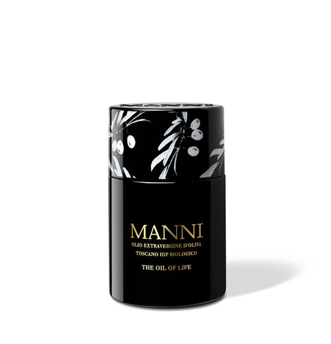 Manni Oil of life organic extra virgin olive oil - olives