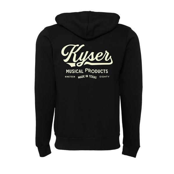 "Kyser ""Arlington"" Classic Zip-Up Hoodie, Black"