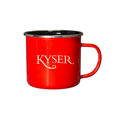 "Kyser ""Hill Country"" Classic Campfire Mug, Red"