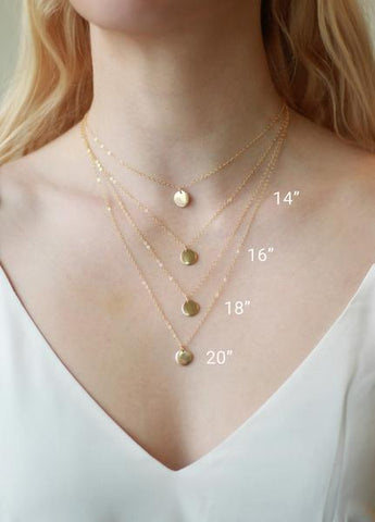 measure necklace size