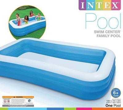 Intex Swim Center Family Pool Blue-58484