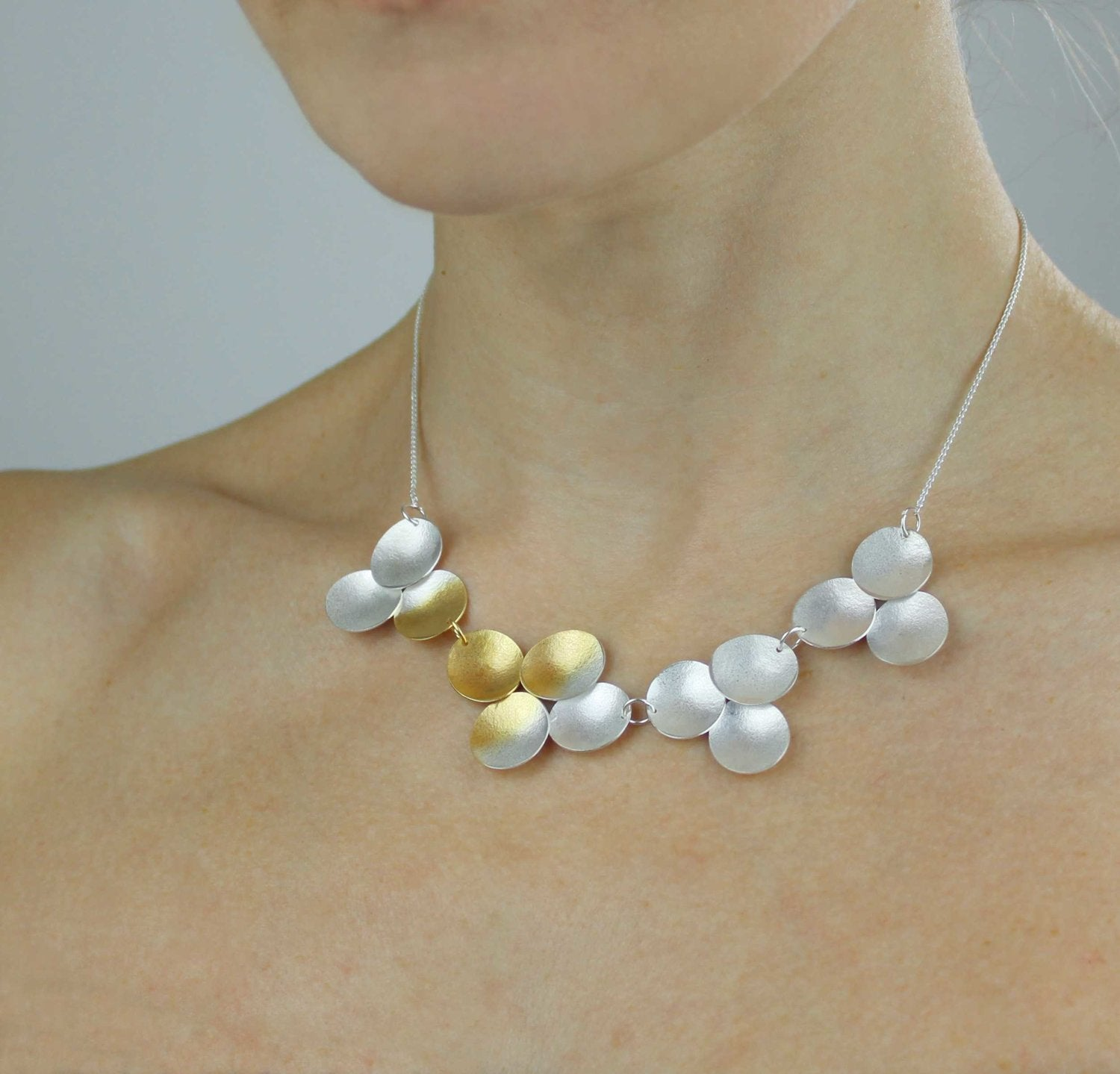 Electra Necklace on Model