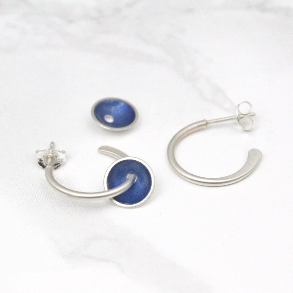 Halo Hoop Earring (16 colour options available)
