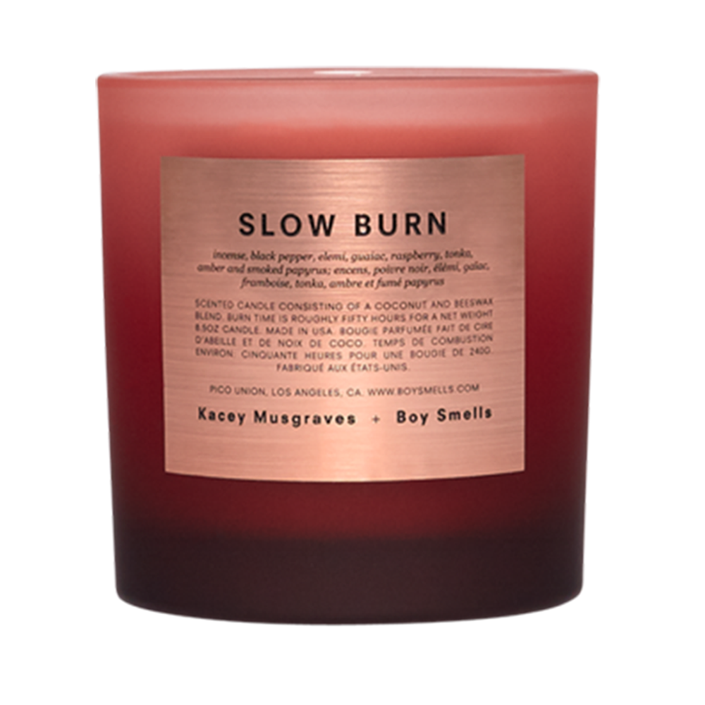 KM + BOY SMELLS EXCLUSIVE SLOW BURN CANDLE