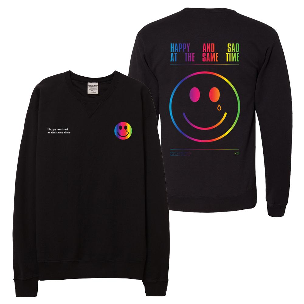 HAPPY & SAD SMILEY SWEATSHIRT