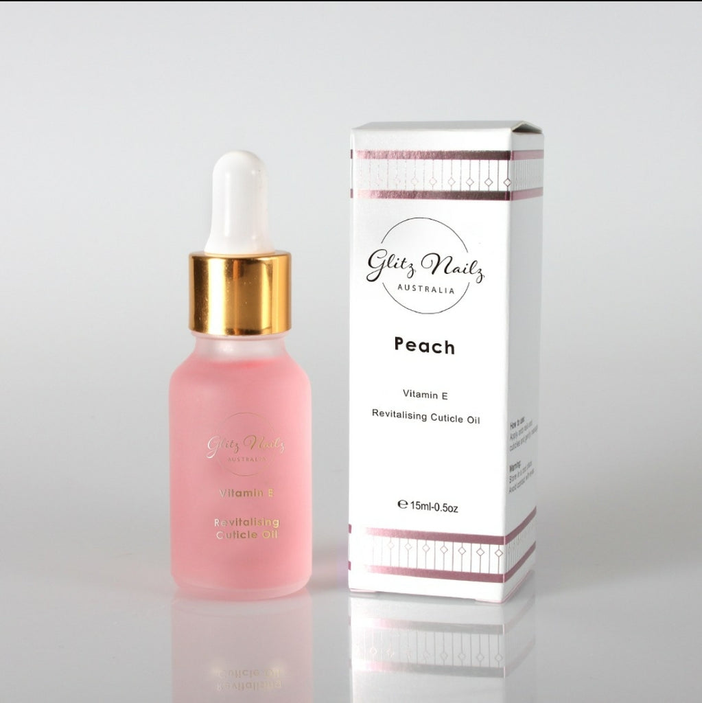 Revitalising Cuticle Oil - Peach Scented
