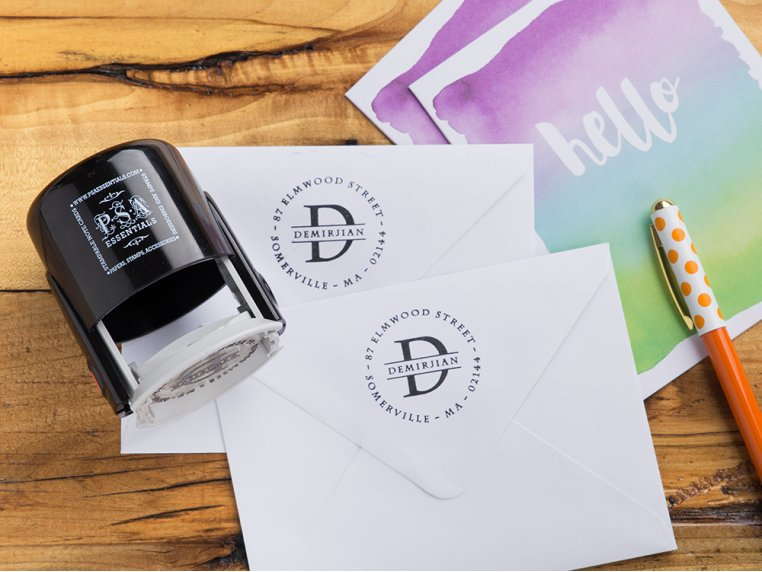 Personalized Address  Stamp Kit