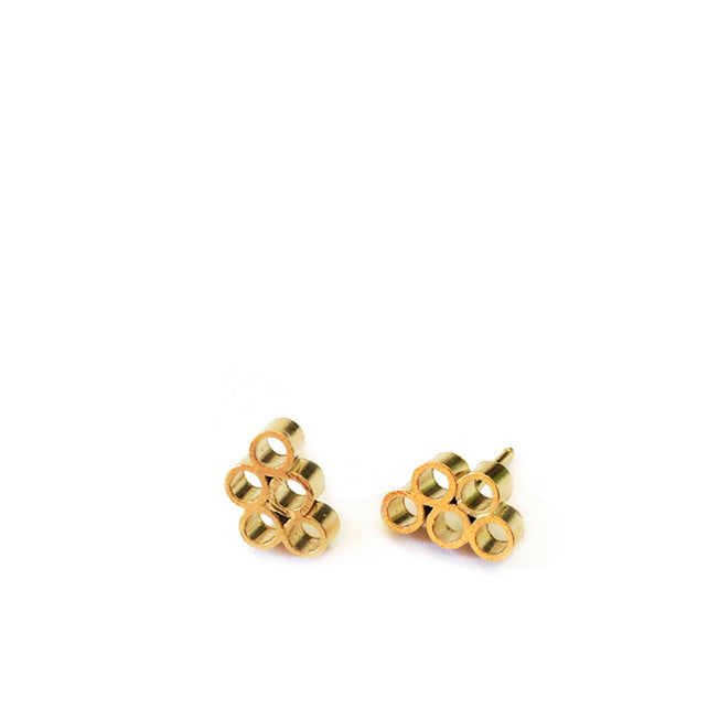 Bubbles studs / עגילי בועות
