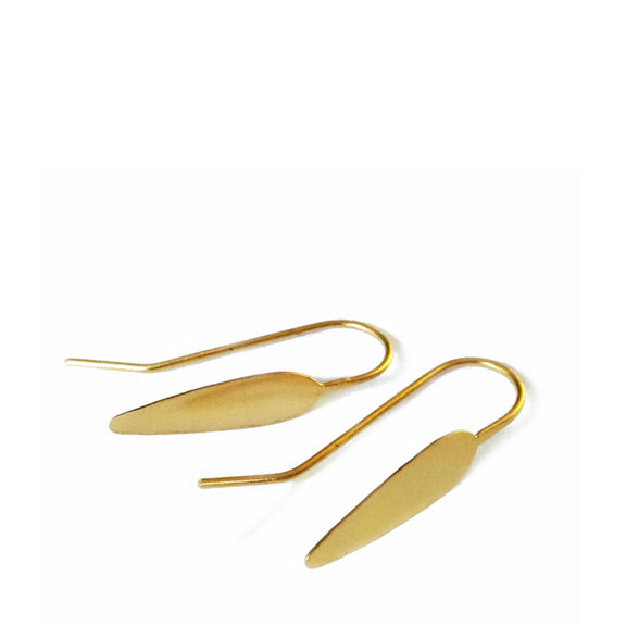 Spear drop earrings / עגילי חנית תלוים