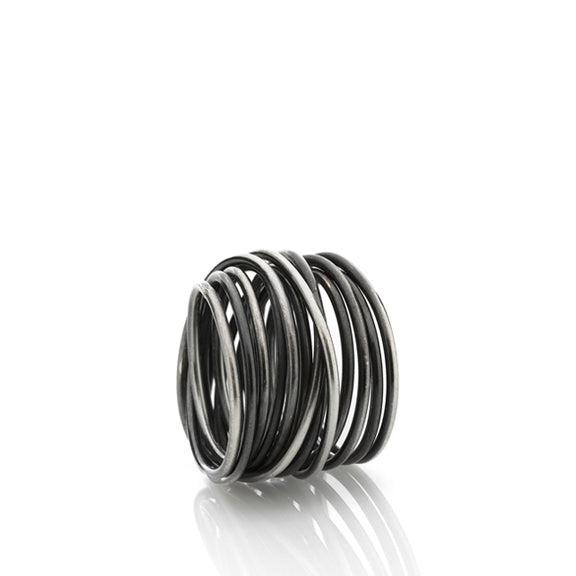 Nest Ring - silver / טבעת קן - כסף