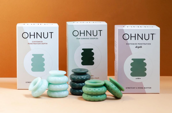 Ohnut Wearable Buffer Rings: For those who think that sex is supposed to hurt