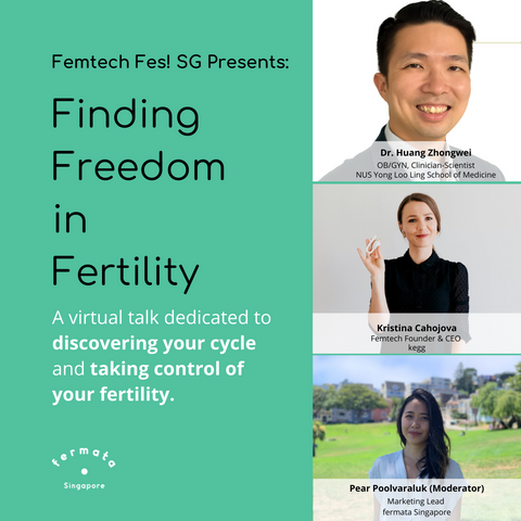 finding freedom in fertility femtech fes! SG