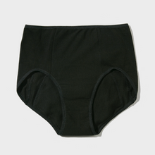 Load image into Gallery viewer, EVE period panty black color front display