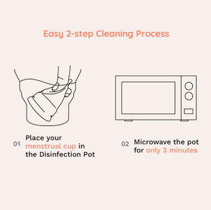 Disinfection Pot for Menstrual Cup - EVE