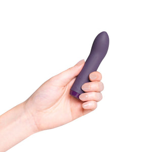 Je Joue' purple G-Spot Vibrator in hand
