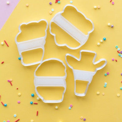 Be Wild Cookie Cutter set of 4