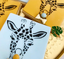 Load image into Gallery viewer, Giraffe Face Cookie Embosser