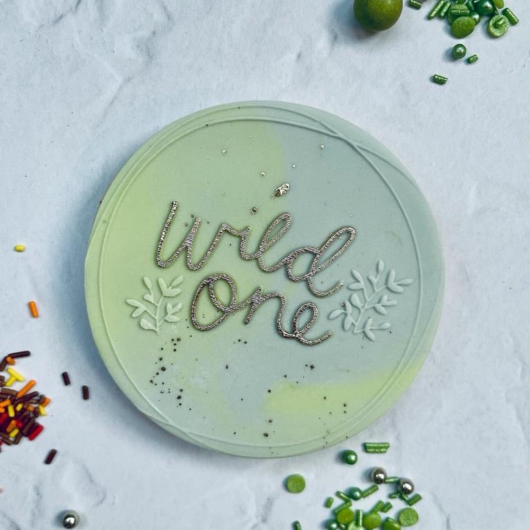 Wild One Wreath Cookie Embosser