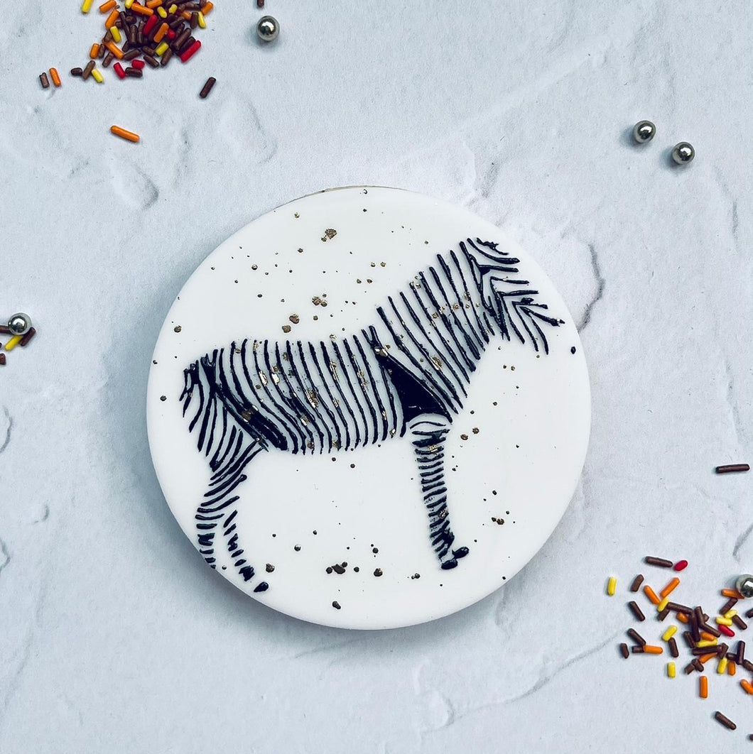 Zebra Cookie Embosser