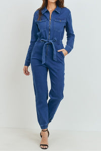 Denim Diana Jumpsuit