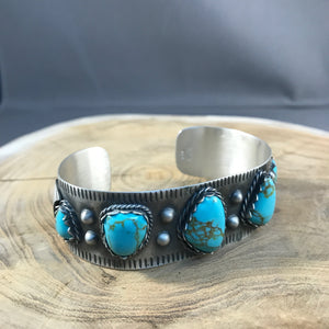 Turquoise Roller Cuff